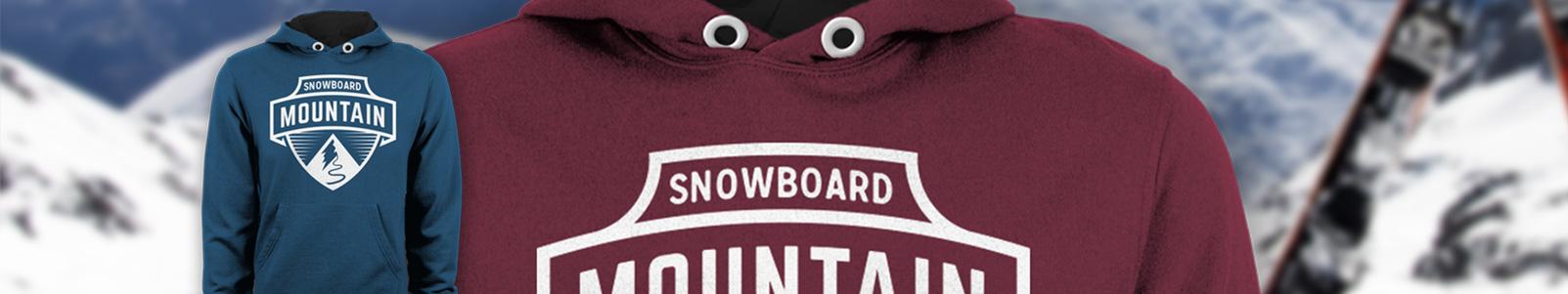 Ski trip hoodies