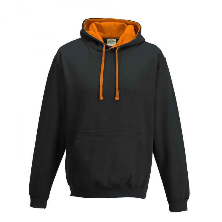 Jet black // Orange crush