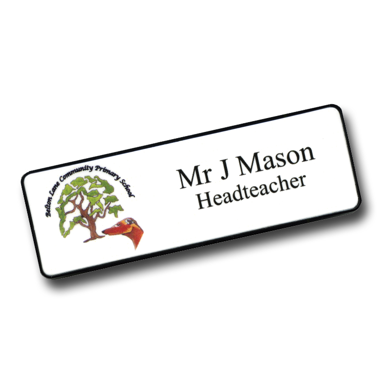 Teacher & Staff Name Badges