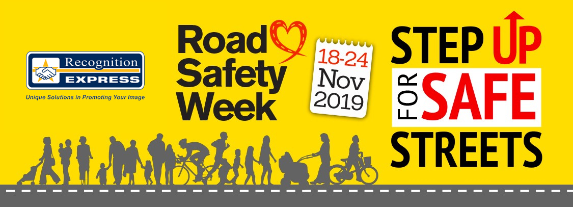 Design a Road Safety Banner Competition 2019 - Recognition Express