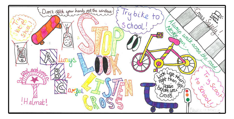 Road Safety Banner Competition