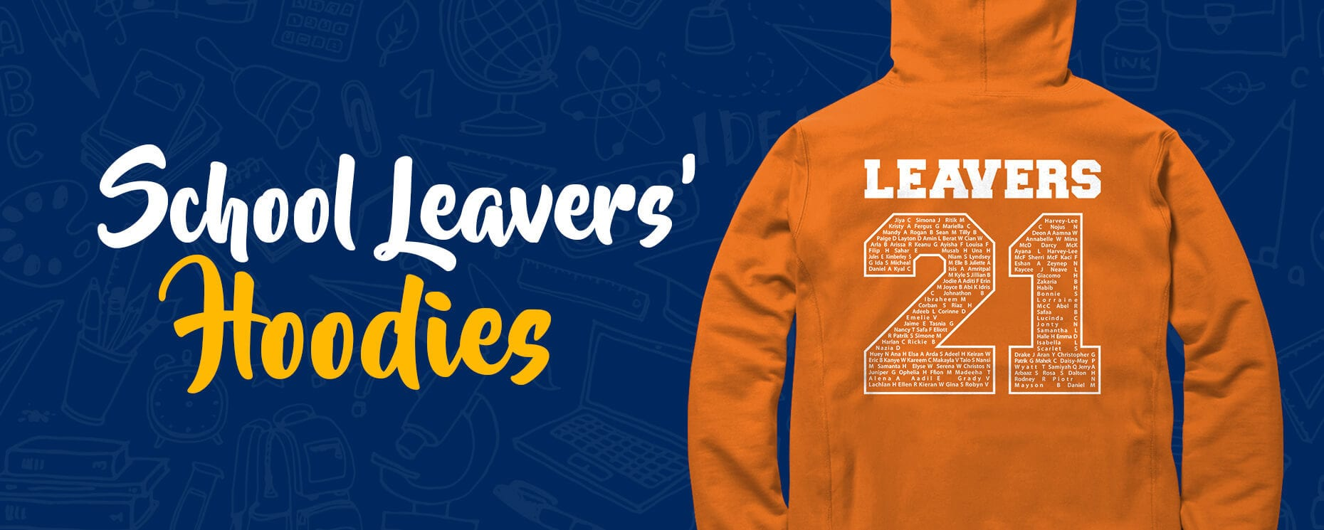 School Leavers' Hoodies